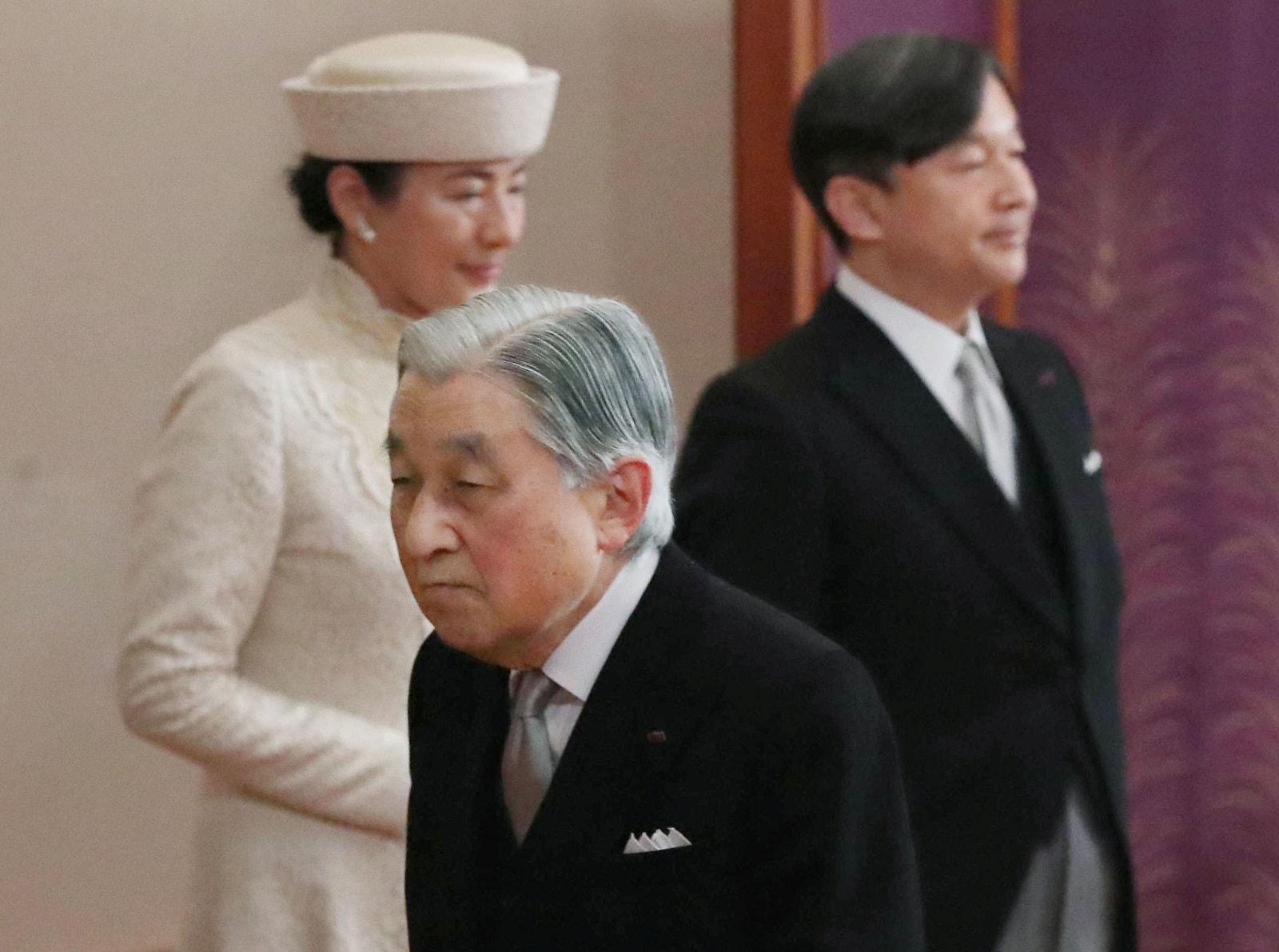 Japan's Emperor Emeritus Akihito.