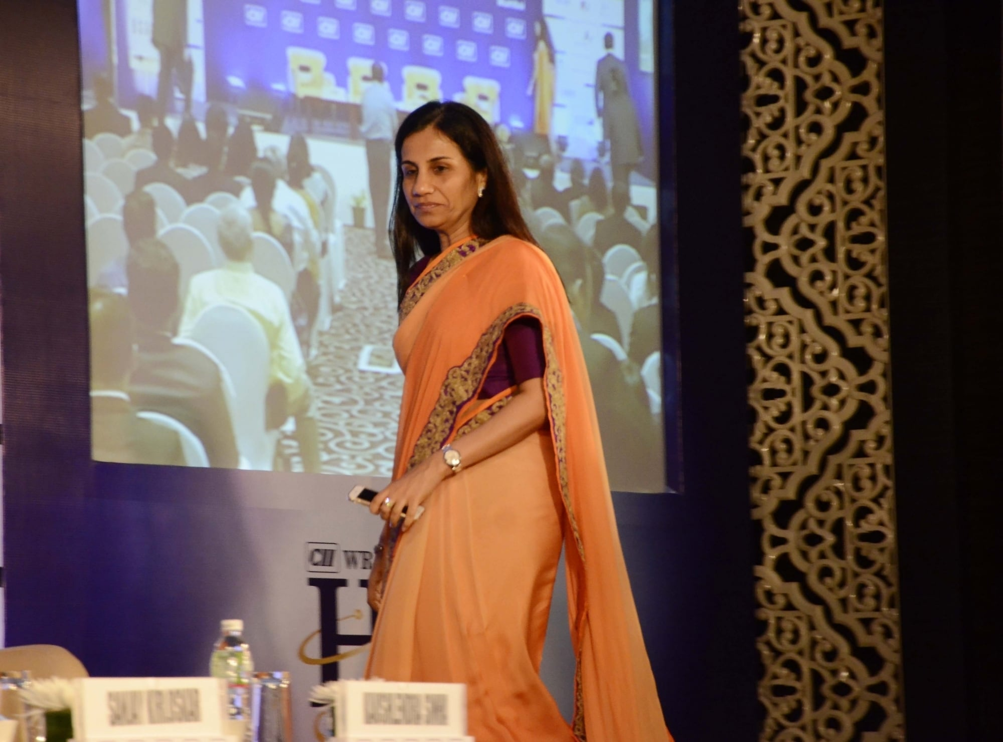 However, in October, Chanda Kochhar resigned. Kochhar has maintained that she had no information about her husband's business dealings. (Picture credits: IANS).