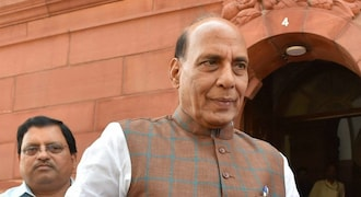 Union minister Rajnath Singh inaugurates 'smart fencing' project in Assam