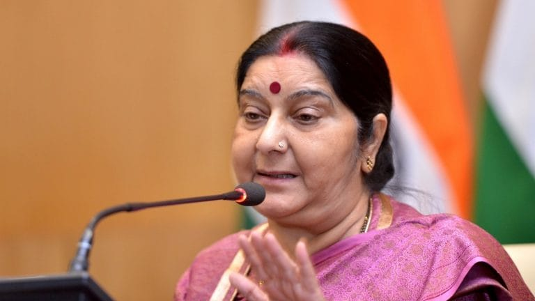 We are monitoring situation in Sri Lanka, says Sushma Swaraj