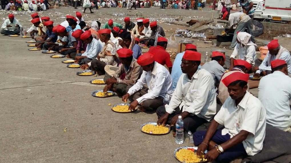 In Pics: After marching for six days, thousands of farmers from Nashik reach Mumbai