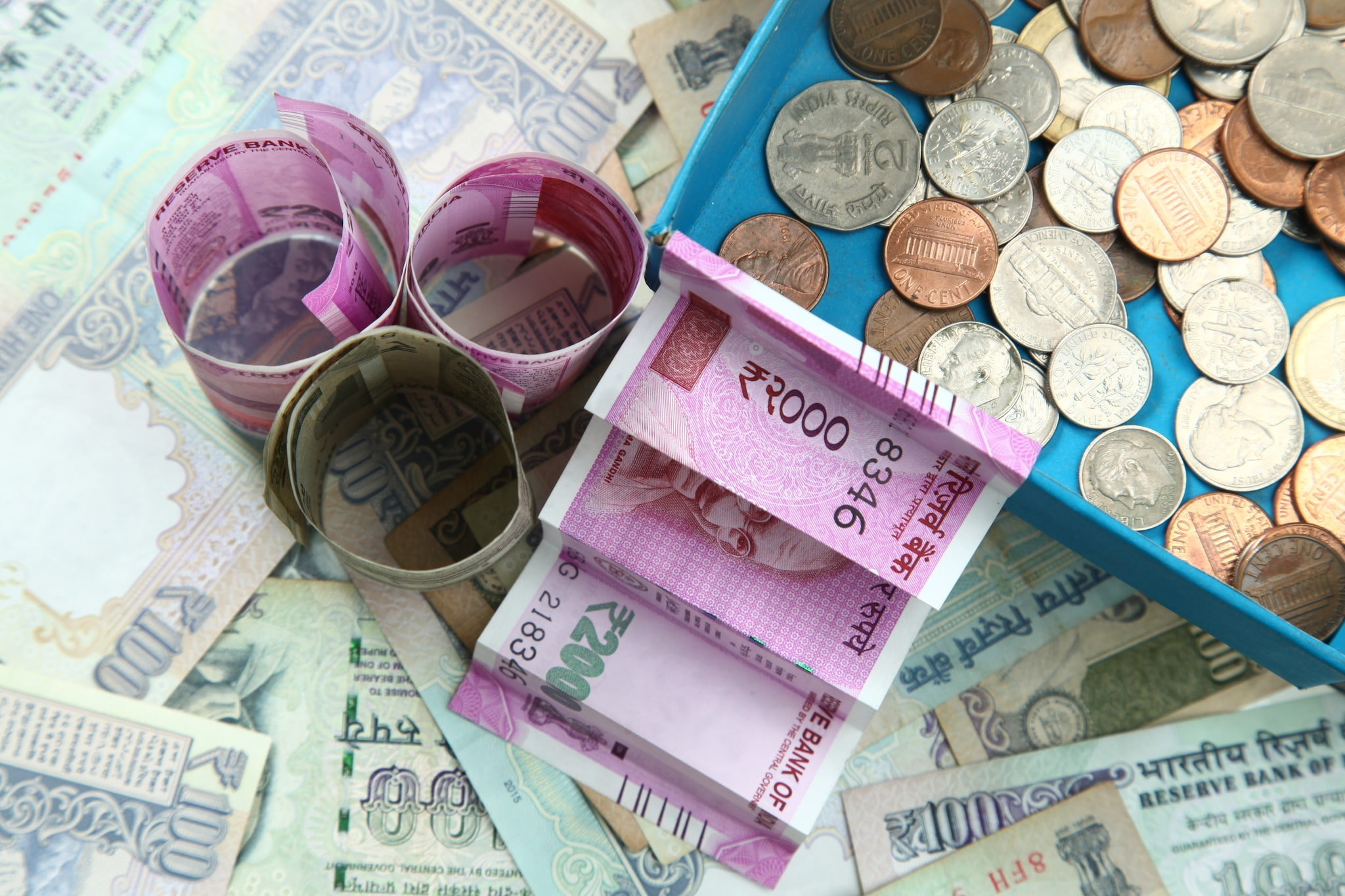 5. Rupee: The rupee closed at 71.10, up by 7 paise against the dollar on Monday. (Image Source: Stock Image)