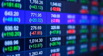 Market closes in the red as volatility persists