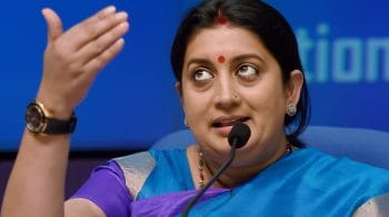 Smriti Irani slams Mahagathbandhan for opportunistic politics, says she will build Amethi from scratch