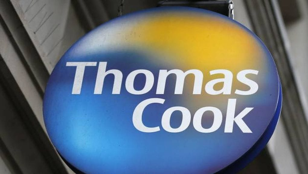 Shares of Thomas Cook fell 17.2 percent to hit its 52-week low of Rs 146.70 per share. (Image: Reuters)