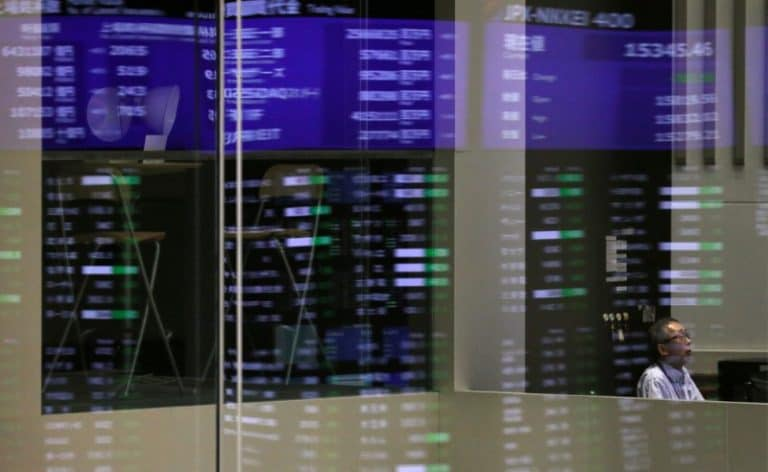 Market closes in the red, Sensex slips 300 points