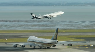 Air New Zealand said on Jan. 31 it was temporarily reducing flights between Auckland and Shanghai to four return services a week from Feb. 18 to March 31 rather than the usual daily flights.