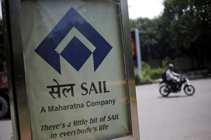 Shares of SAIL declined 5.8 percent to hit its 52-week low of Rs 43.35 per share on weak metal prices. (Image: Reuters)