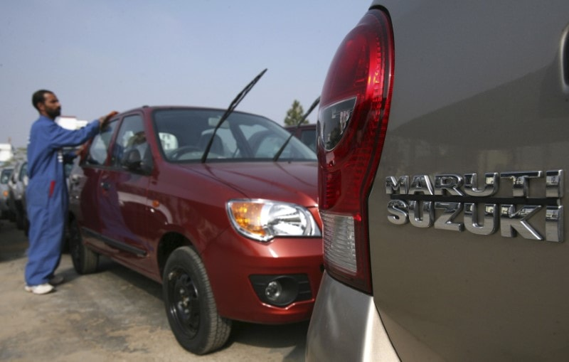 Maruti Suzuki India: The auto major on Wednesday launched the 2019 edition of its hatchback Ignis with updated safety features priced between Rs 4.79-7.14 lakh (Image: Reuters)