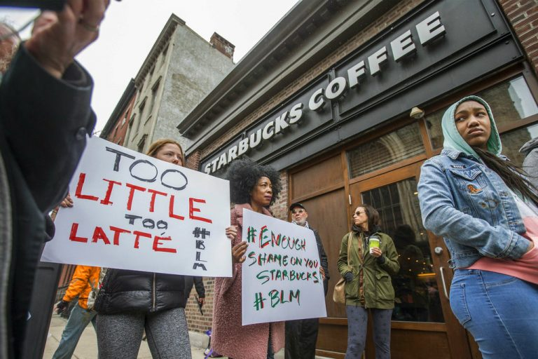 Starbucks to train workers on 'unconscious bias,' CEO says