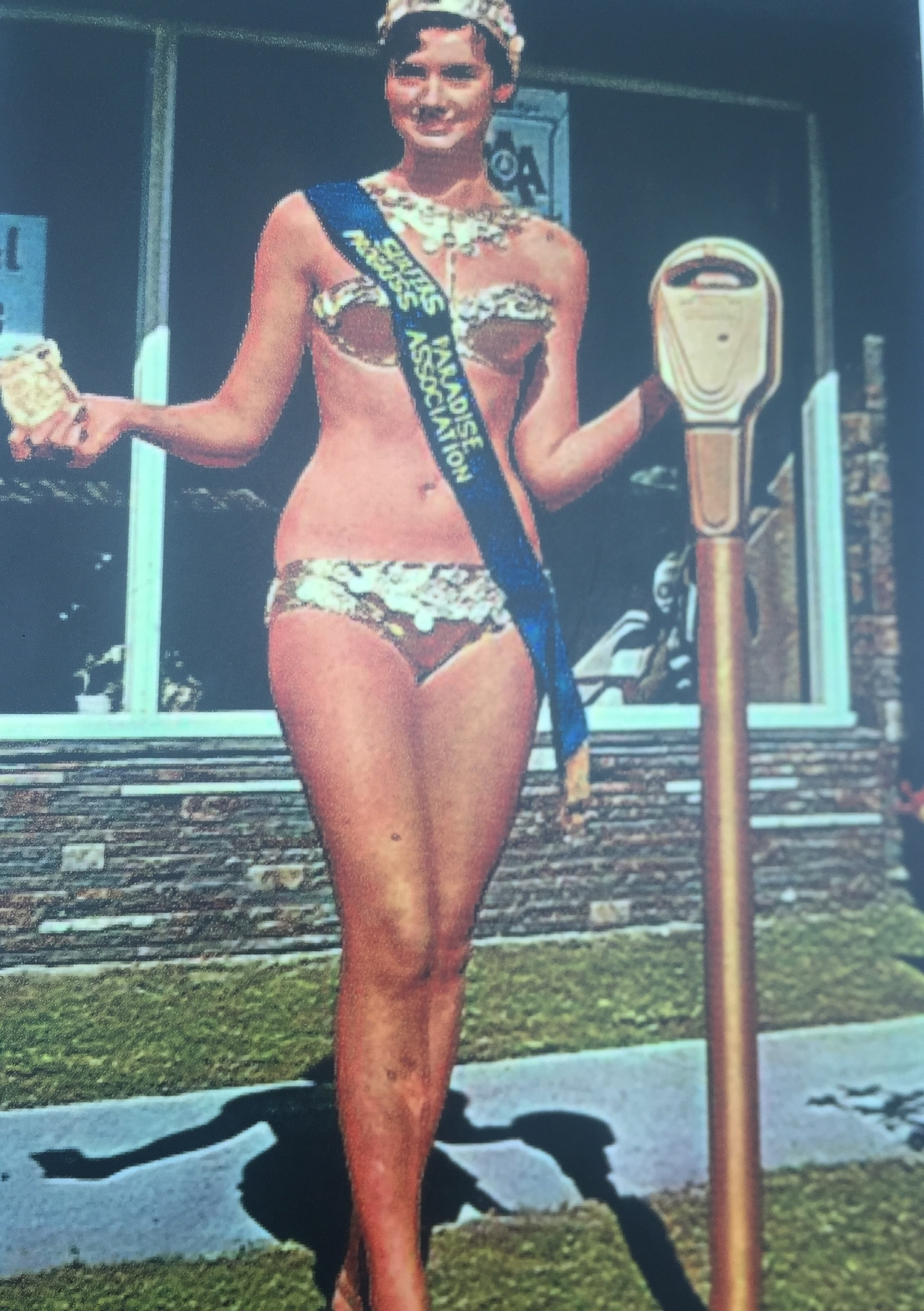Bikini-clad meter maids were introduced in the Surfer's Paradise in 1965 by Surfers Paradise Progress Association to put a positive spin on new parking regulations. To avoid tickets being issued for expired parking, the meter maids dispensed coins into the meter and left a calling card under the windscreen wiper. The meter maids are still a part of Surfer's Paradise.
