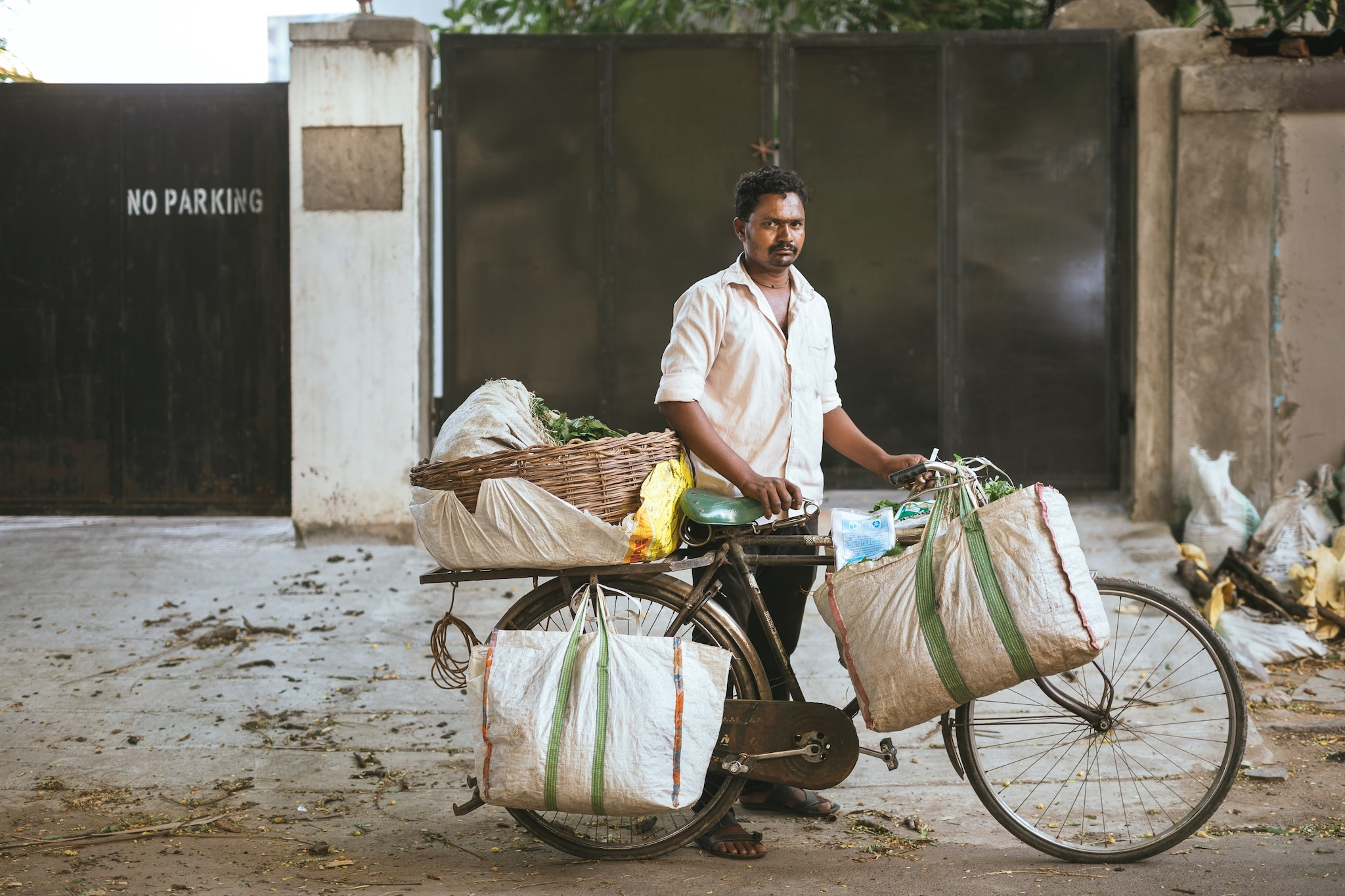 The Vegetable Seller. Ramu has been selling green leafy vegetables in the same spot for 12 years and has sales of up to Rs 1,000 a day.