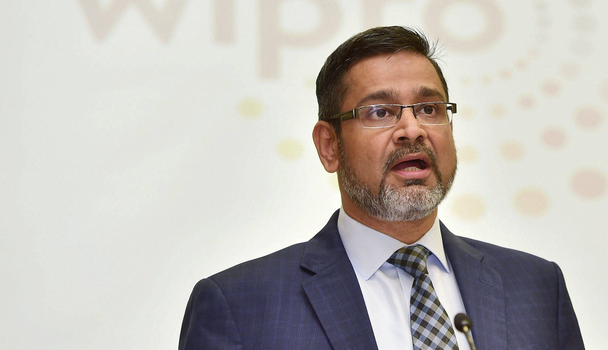 In a regulatory filing, Wipro said Abidali Neemuchwala's salary jumped nearly 41 percent to $3.95 million (approx Rs 27 crore) in FY19, with variable pay forming a large chunk as it is paid to him annually. (Image: PTI)