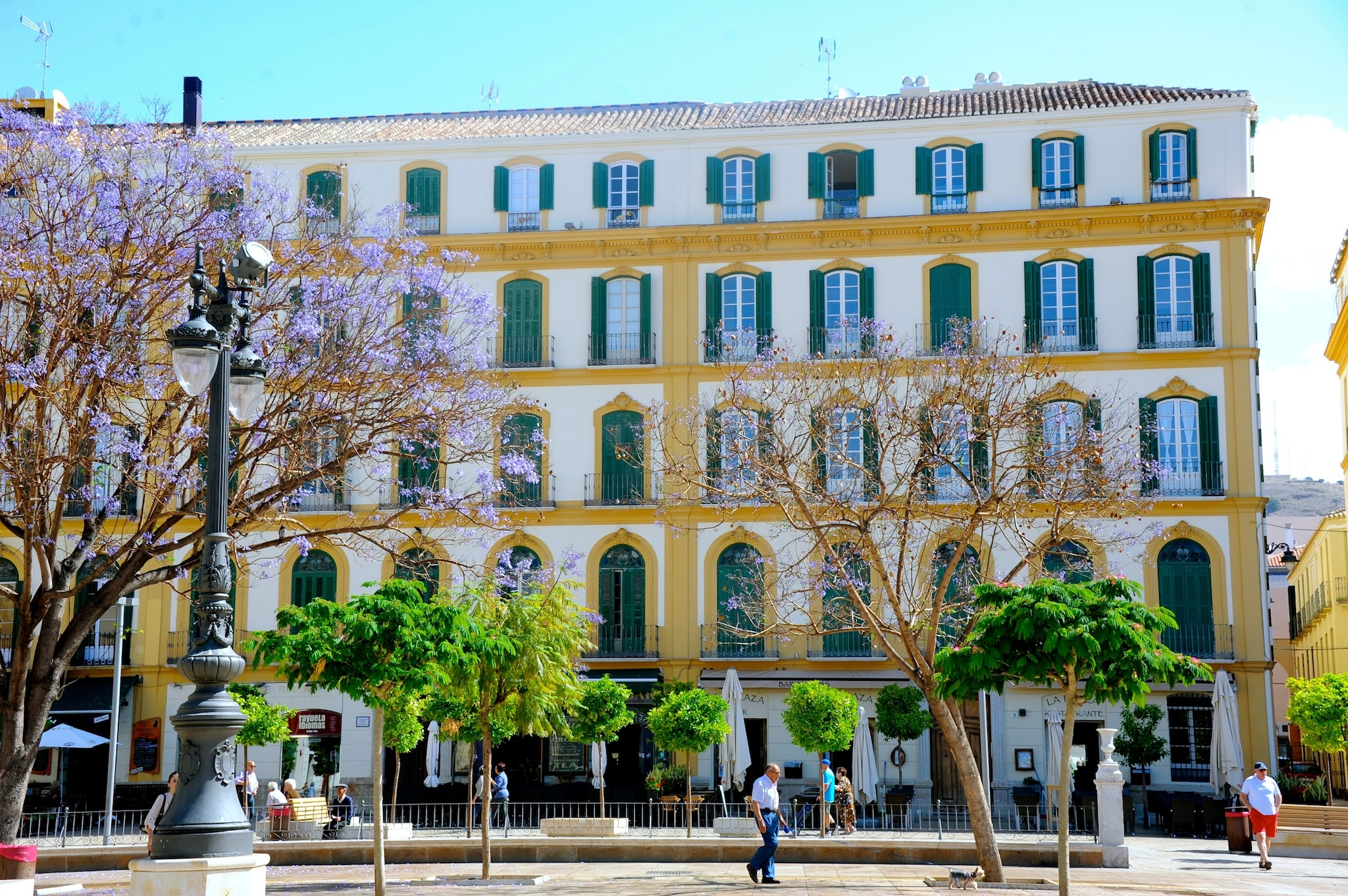 The house where Picasso was born on October 25, 1881.