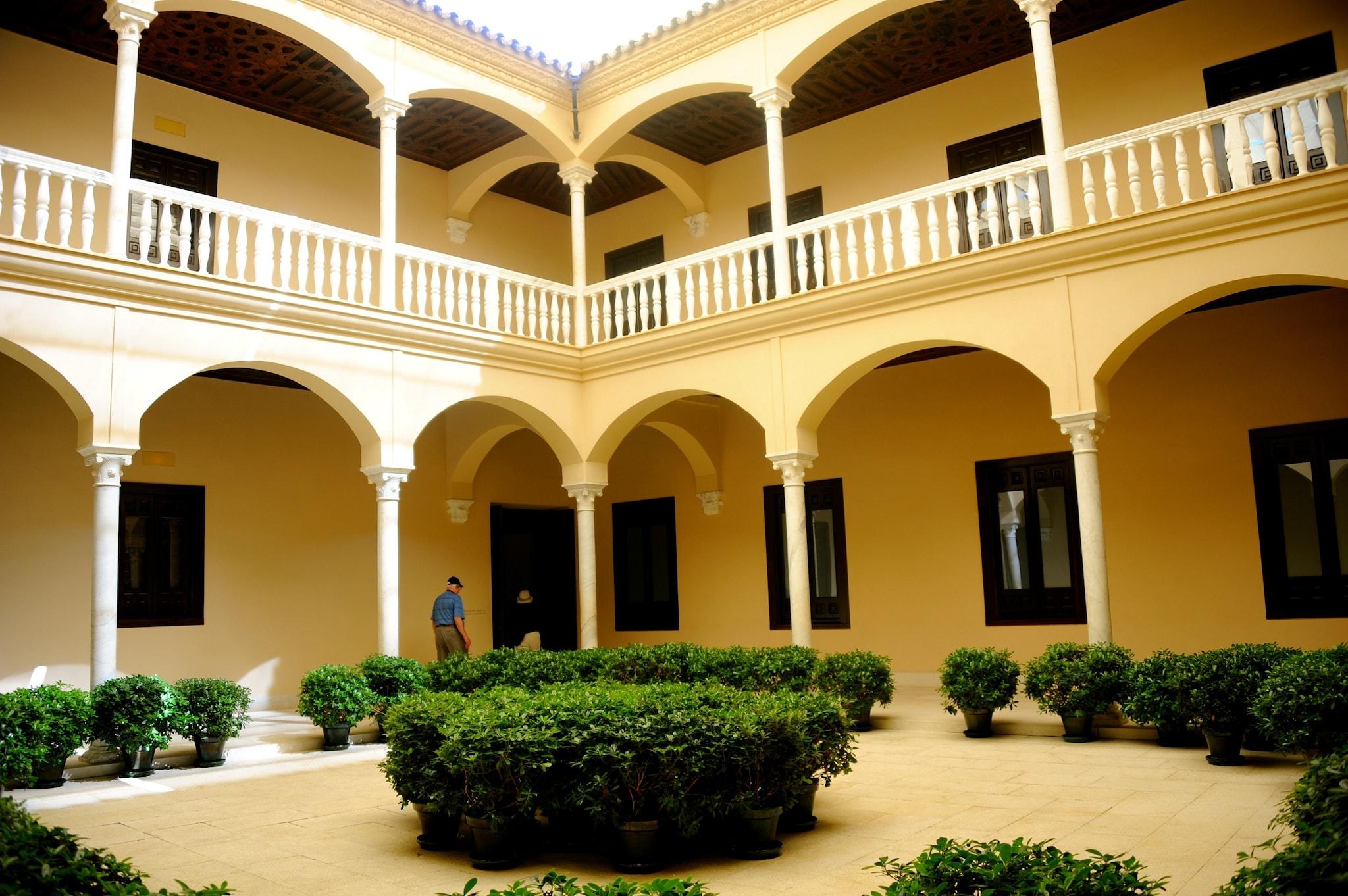 The Picasso Museum in Malaga.