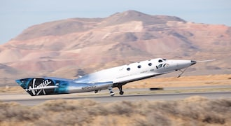 VSS Unity was previously known as the VSS Voyager.   Twitter (@virgingalactic)