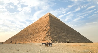 The Pyramids of Giza, located close to the city of Cairo has inspired and enthralled millions. Visitors flock to the site, the only surviving among the seven wonders of the ancient world, making the top destination in this list.