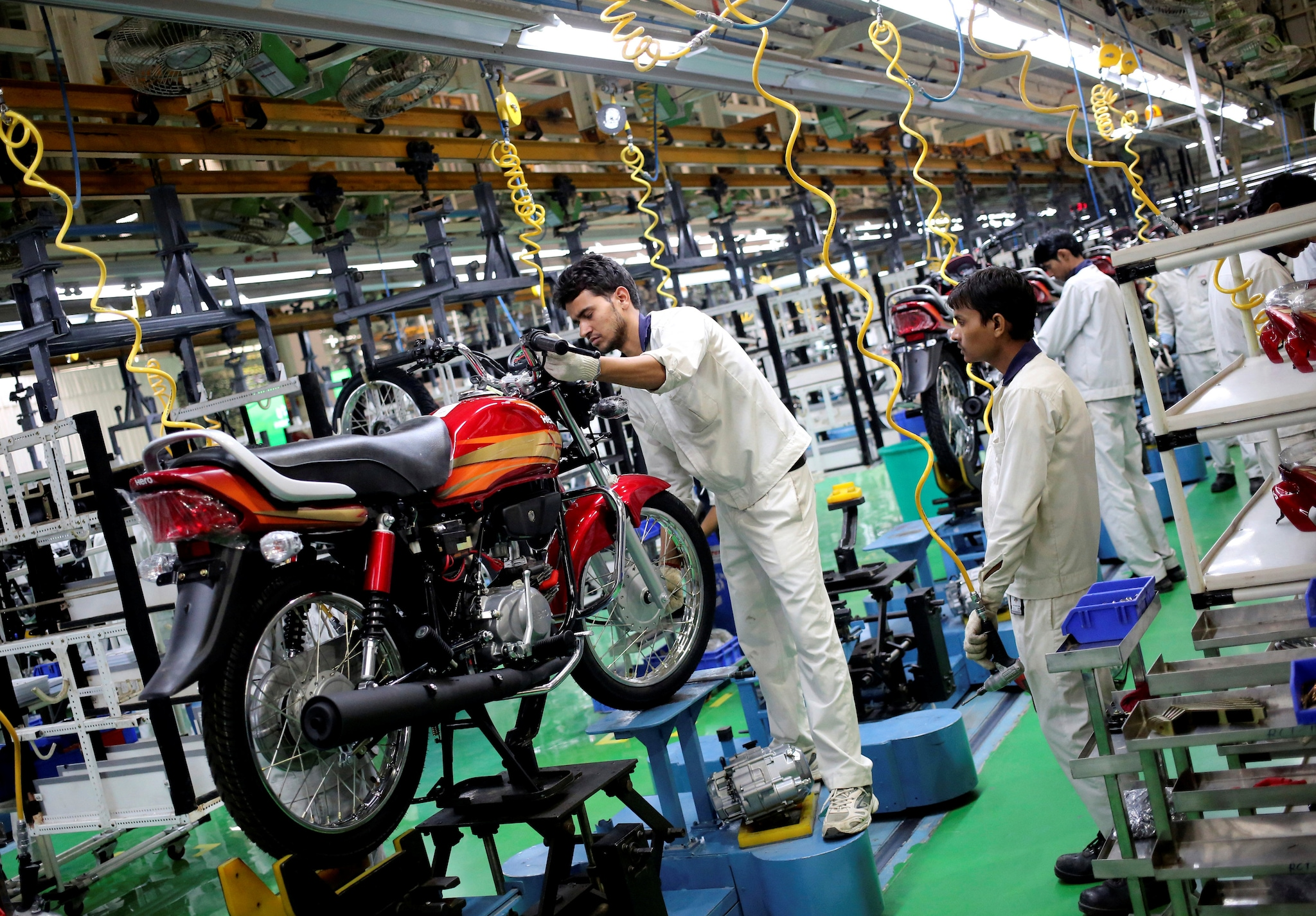 Hero MotoCorp: The company stretched its lead to around 20 lakh units over rival and erstwhile partner Honda in two-wheeler sales in 2018-19 amid a slowdown in the domestic market. (Image: Reuters)