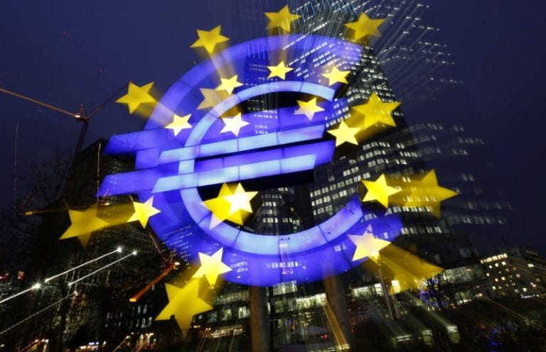 Euro zone inflation eases, supporting ECB view