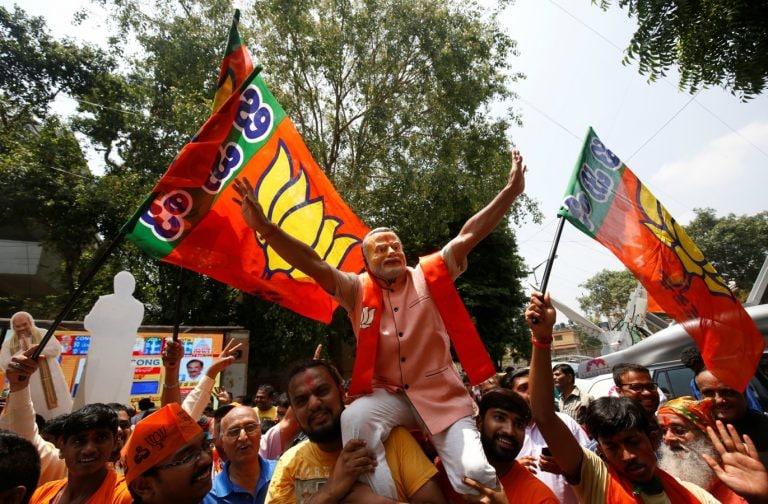 In major boost, BJP seen winning in Karnataka