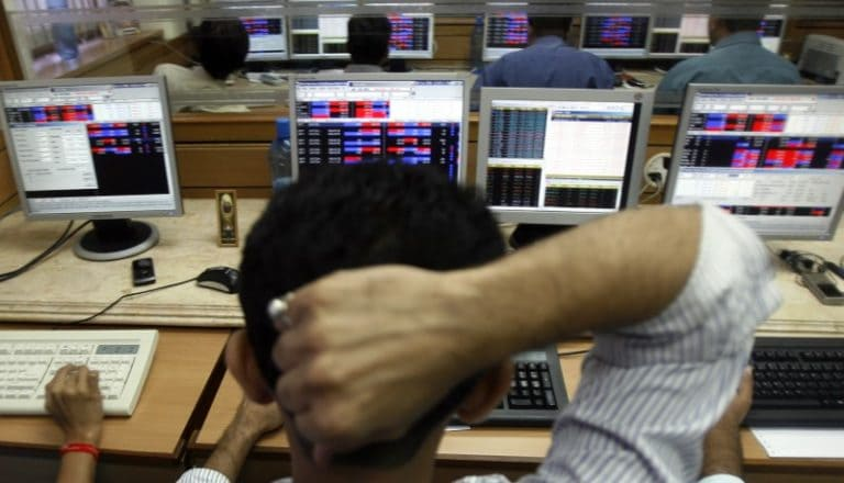 Closing Bell: Market ends lower after touching record high on Lok Sabha poll result trends, Sensex loses 299 points