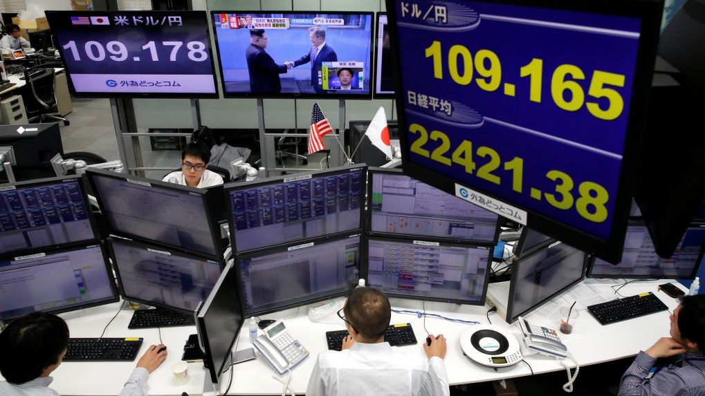 Asian shares cheered by Brexit deal hopes, sterling shines
