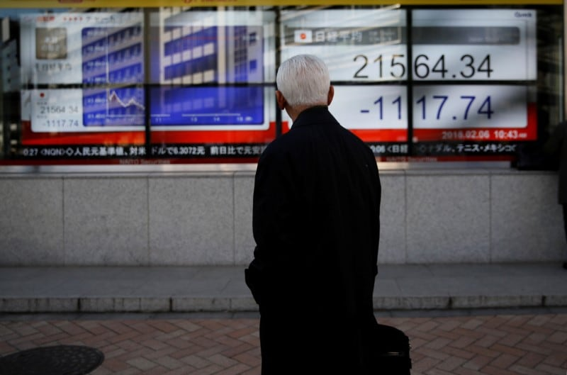 1. Asia: MSCI's broadest index of Asia-Pacific shares outside Japan was barely changed at 522.38 points. Japan's Nikkei jumped 0.6 percent while Australian and New Zealand shares each added 0.2 percent. Asian markets have seen an impressive rally this year with the MSCI index climbing about 10 percent largely after the US Federal Reserve all but abandoned its rate hike plans. (Image: Reuters)