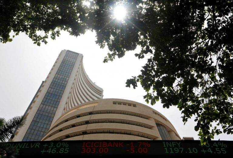 Opening Bell: Sensex gains 130 points, Nifty above 11,200 level; Coffee Day shares plunge 20%
