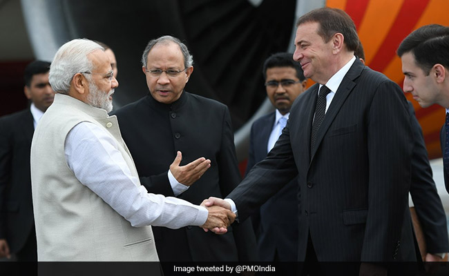 Talks with Putin will strengthen India's 'special and privileged' strategic partnership with Russia, says PM