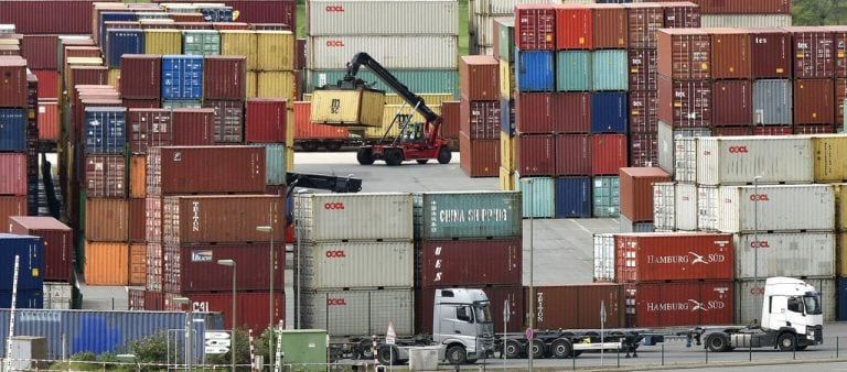 Exports rise at fastest pace in 3 months in August; trade deficit narrows to $17.4 billion