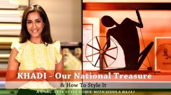 Why is Khadi seeing a resurgence in Indian fashion?
