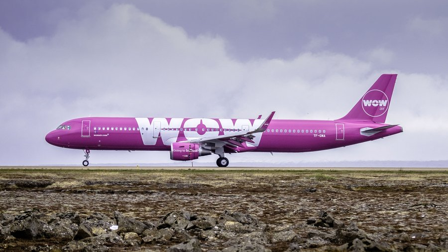 WOW air commences direct services to Iceland