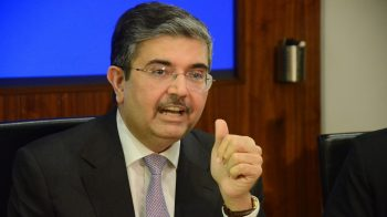 Uday Kotak addresses the 'dragon' in the room