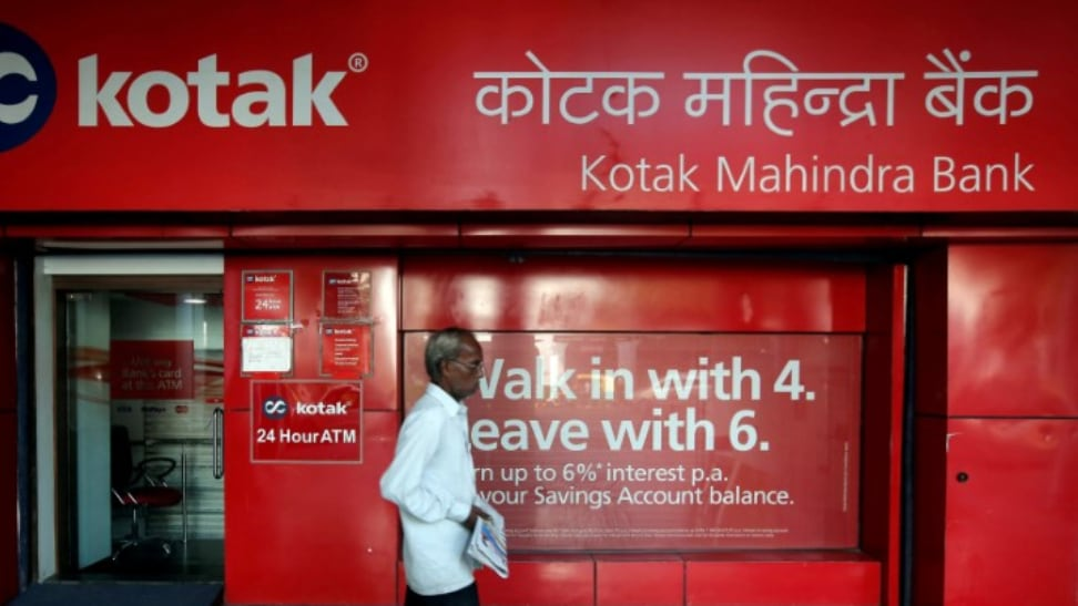 Kotak Mahindra Bank: The bank on Monday reported a jump of 23 percent in its consolidated net profit at Rs 1,932 crore in the first quarter ended June 30. (Image: Reuters)