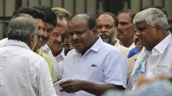 Some issues with Congress over portfolio allocation, says H D Kumaraswamy
