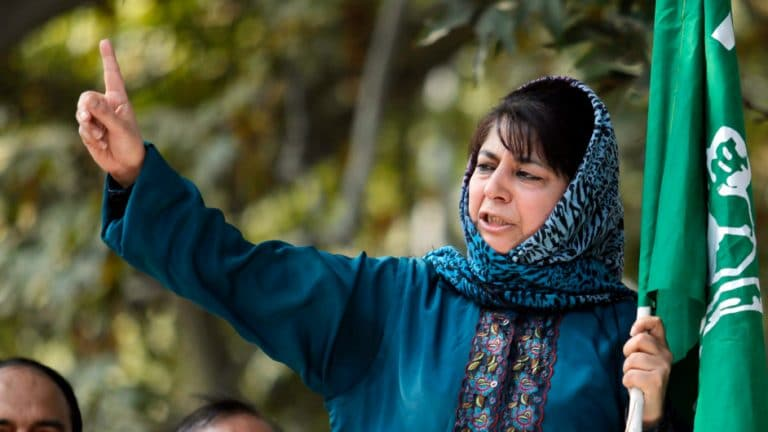 Mehbooba congratulates BJP for its