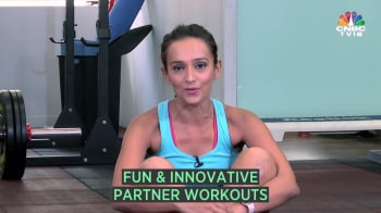 Work out with a partner to keep yourself motivated