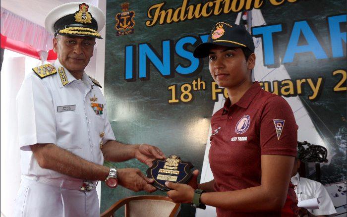 Navy's INSV Tarini returns after successful circumnavigation of the globe