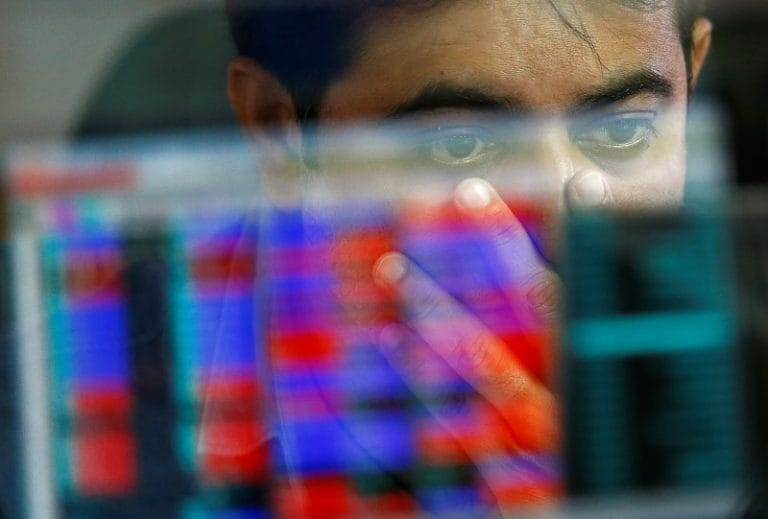 Sensex ends over 400 points lower from day's high, Nifty holds 10,600; IT stocks drag indexes