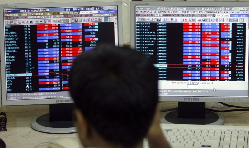 3. Markets At Close On Monday: Indian shares ended flat after a volatile trade on Monday after Moody's Investors Service cut its rating outlook for the country last week and as the absence of fresh triggers kept markets range-bound. The Sensex gained 200 points from lows to end with minor gains of 21 points at 40,345, while the broader Nifty50 index added 5 points but more crucially held onto the 11,900 peak closing at 11,913. Meanwhile, foreign institutional investors bought 664 crores in the cash market while domestic institutional investors sold 245 crores. (Image: Reuters)
