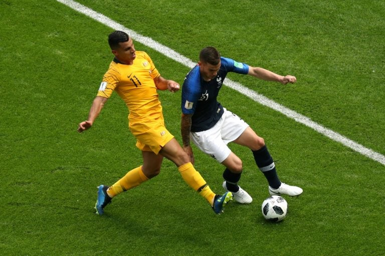 Technology helps France to 2-1 win over Australia