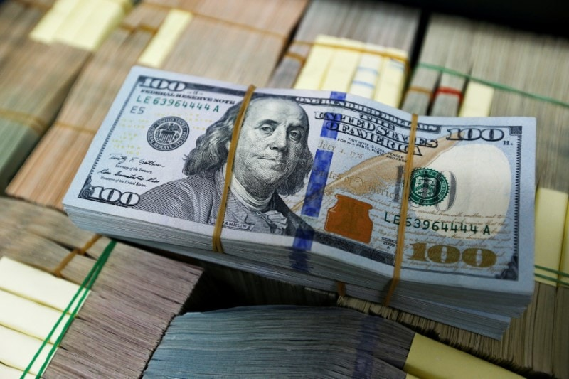 6. Dollar: The dollar's index, which measures the greenback against a basket of major currencies, was last at 95.766. Against the safe haven Japanese yen, the dollar was down at 109.16, on track for a third straight session of losses. (Image Source: Reuters/Caption Credits: Reuters)