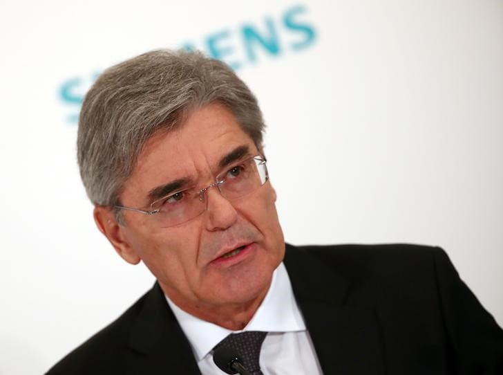 Siemens CEO dismisses report of large turbines unit sell-off