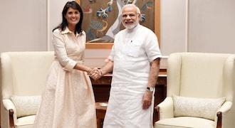 Prime Minister Narendra Modi, Nikki Haley discuss cooperation in counter-terrorism