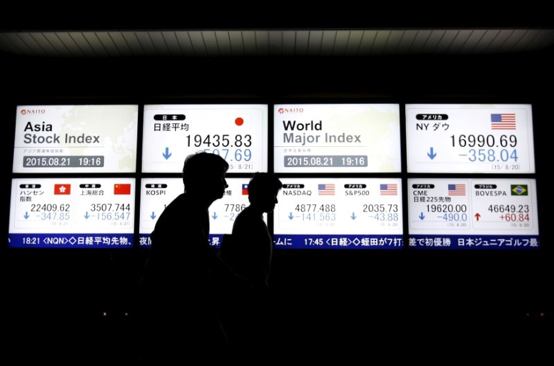 Asian stocks were barely moved on Monday, hovering near a four-month high. MSCI's broadest index of Asia-Pacific shares outside Japan was basically unchanged. Japan's Nikkei added 0.4 percent. China's financial markets are closed all week for the Lunar New Year holiday. On Friday, the Dow nudged up 0.26 percent while the Nasdaq shed 0.25 percent. (Reuters)