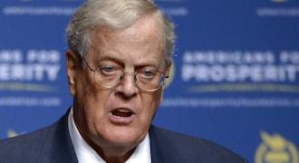 Heavyweight political donor David Koch to retire from Koch Industries