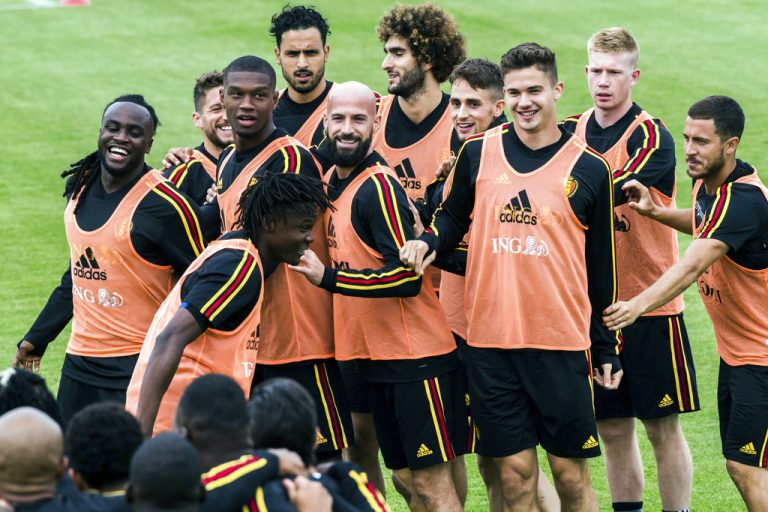 Highly touted Belgium starts with World Cup newcomer Panama