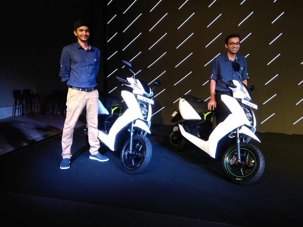 Ather Energy launches electric scooter for Rs 1 24 lakh - cnbctv18 com