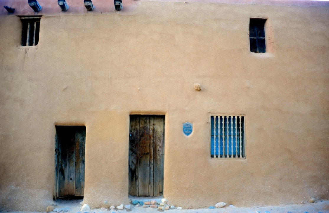 The oldest house in the USA: Built in 1646 and known as the De Vargas Street House, it is oldest house in the USA. An adobe building, it rests on part of the foundation of an ancient Indian Pueblo dating from around 1200 AD.