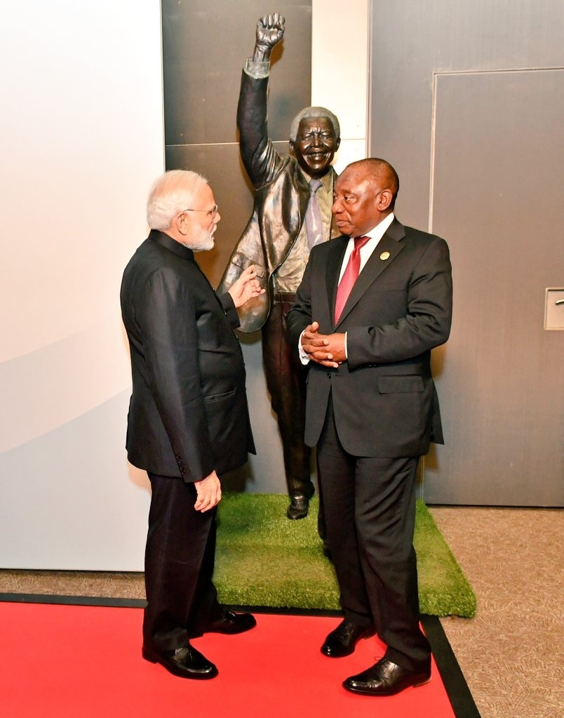 10. Cyril Ramaphosa: The President of South Africa will be the chief guest at the 70th Republic Day celebrations in 2019. South Africa and India are the Non-Aligned Movement (NAM) countries who have dealt with colonisation and apartheid. This year also commemorates the 150th birth anniversary of Mahatma Gandhi who was significant in fighting oppression by the British in both the countries. (Image Source: IANS)